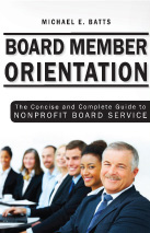 Cover of Board Member Orientation
