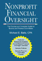 Nonprofit Financial Oversight - The Concise and Complete Guide for Boards and Finance Committees Front Cover