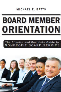 Board Member Orientation Cover