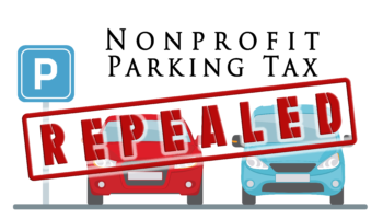 Nonprofit Parking Tax - REPEALED