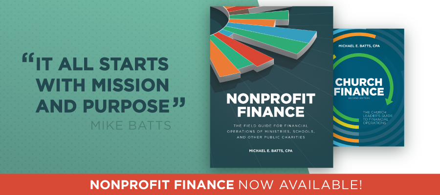 Nonprofit Finance - Now Available!