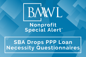 SBA Drops PPP Loan Necessity Questionnaires
